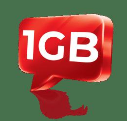 1 GB dat již od 17 Kč!