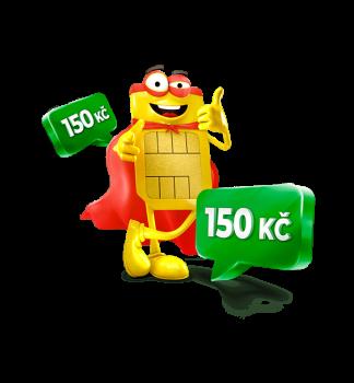Bonusový kredit 150 Kč za převedení čísla k SAZKAmobilu od jiného operátora