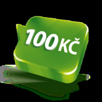 Více volání jako na zavolanou se 100 Kč kreditu navíc díky Odměně za dobití