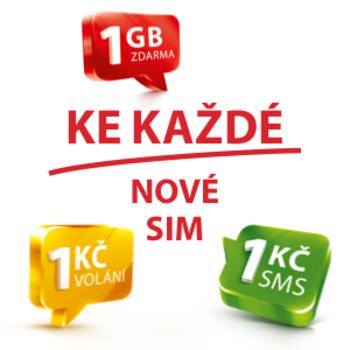 Odměny za aktivaci SIM karty